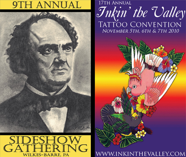 9th Annual Sideshow Gathering at Inkin' the Valley