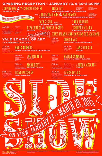 Side Show at Yale School of Art.